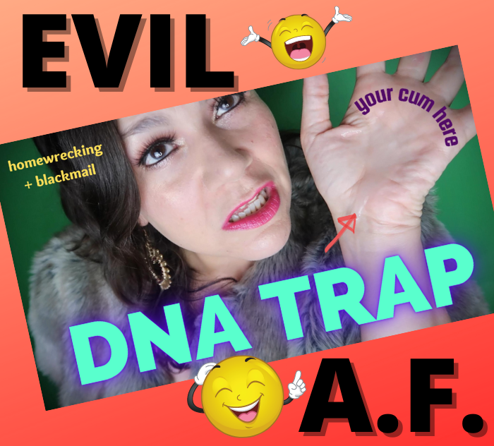 Evil homewrecking blackmail fetish fantasy video nsfw